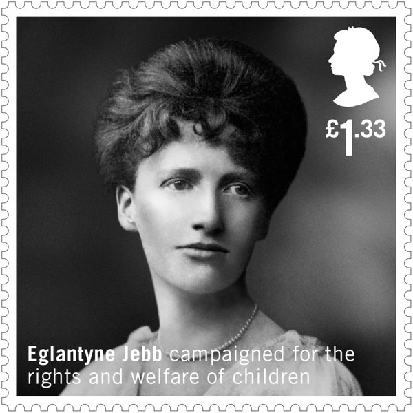 Eglantyne Jebb, founder of Save thge Children in 1919