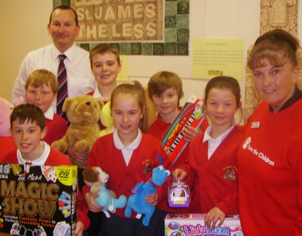 Rossendale branch Save the Children week fundraising
