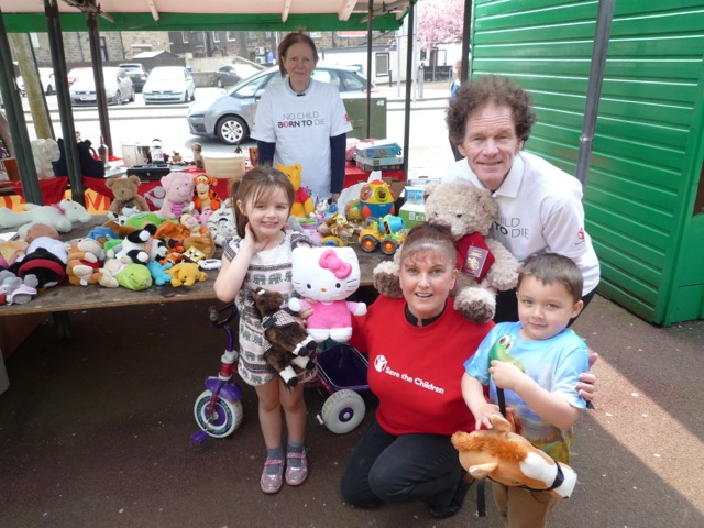 Rossendale Save the Children fundraising